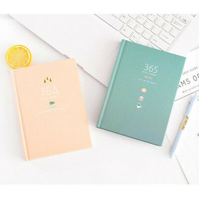 Little Clean Calendar Book Notebook Cartoon Cute Journal Diary Planner Notepad