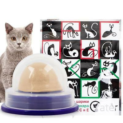 1x Saine Cat Snacks Sucre Sucette Lick-Solid Nutrition Energy Ball Cats