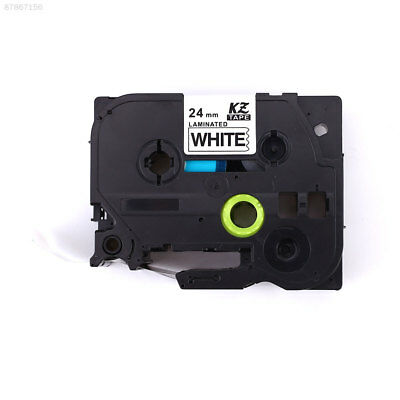 3B18 Tze251 24MM Black On White Touch Label Printer Tape Compatible For Brother