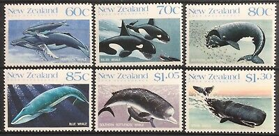 New Zealand 1988 Whales SG1491/96 MNH
