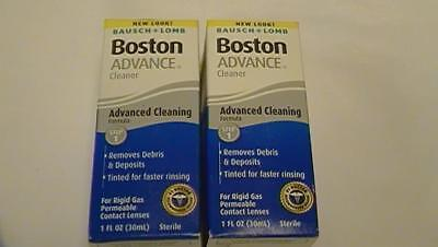 Bausch & Lomb Boston Advance Cleaner LOT OF 2 NEW SEALED Exp 07/18 & 03/19