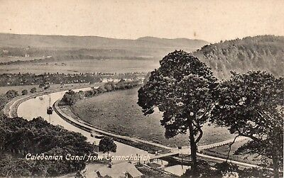 Vintage Postcard.caledonian Canal From Comnahurich.scotland.