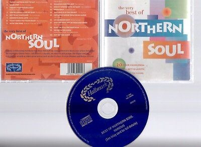 The Very Best Of Northern Soul ~20 Floor-Fillers~ (Cd) ***free P&p***