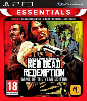 Red Dead Redemption GOTY - Game Of The Year - PS3 Playstation 3 - NEU OVP