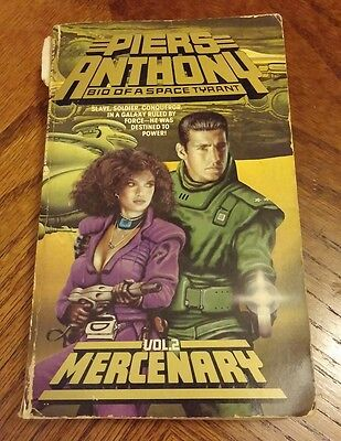 Mercenary By Piers Anthony English Paperback Book Free Shipping
