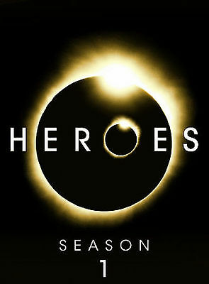 Heroes Season 1 DVD Box SET GREAT CONDITION DVDS FLAWLESS FS