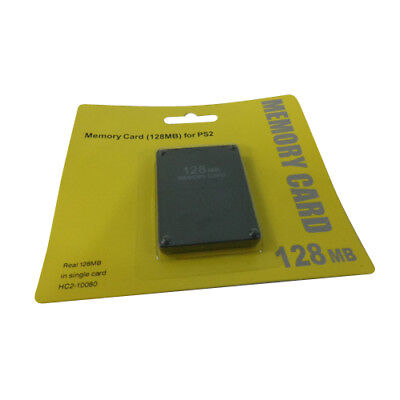 128MB PS2 Memory Card for Sony PlayStation 2 PS2 Video Game Console