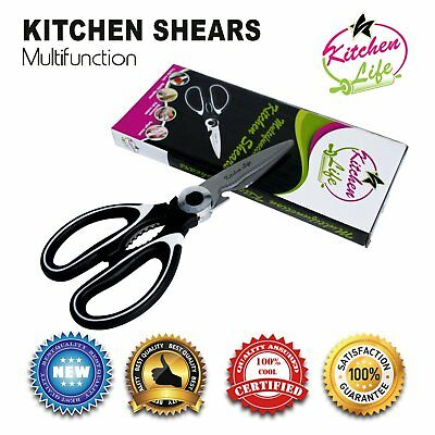 Heavy Duty Kitchen Shears Stainless Steel Multifunction Scissors Chicken Bone