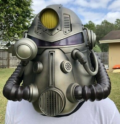 Fallout 76 Power Armor Edition Wearable T 51 Collectible Helmet New