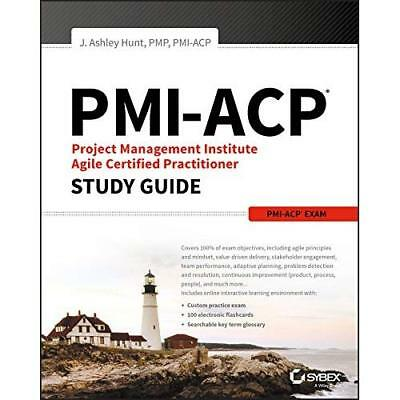 PMI-ACP Project Management Institute Agile Certified Pr - Paperback NEW Hunt, J.