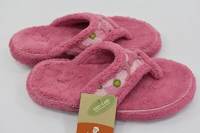 93a5e3cd49ba ACORN WOMEN Spa Thong SLIPPERS MD 6½-7½ NEW WITH TAG