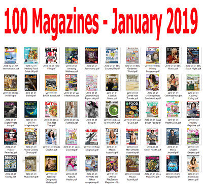 100 Magazines - January 2019 - Digital PDF