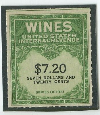 U.S. Stamps Scott #RE160 Wine,MINT,NH,F-VF (G8763N)