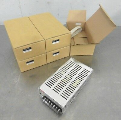 C156663 Lot 5 Mean Well SP-100-24 DC Power Supply (24VDC, 2.5A)