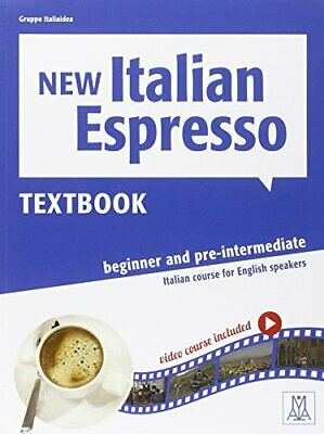 New Italian Espresso: Textbook + DVD-ROM 1 by Hanff, Helene Book The Cheap Fast