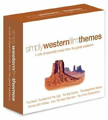 Various - Simply Western Themes - Various CD Z0VG The Cheap Fast Free Post The