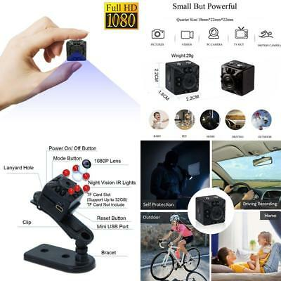 Mini Spy Camera Portable Hidden Camera 1080P Portable Pocket Nanny Camera Perfec