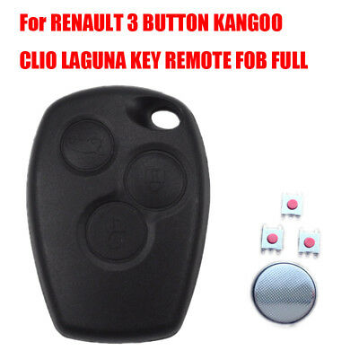 2X MICRO SWITCH BUTTON FOR REPAIR REMOTE KEY FOB RENAULT CLIO MODUS