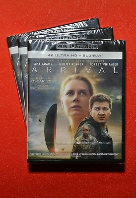 Arrival 4K UHD + Blu ray EU Import New & Sealed
