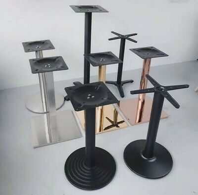 Iron Table Base for Restaurant Cafe Club Legs Heavy Duty