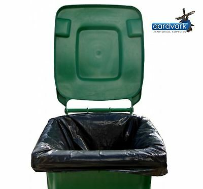 Wheelie Bin Liners Refuse Sacks Garden Waste Rubbish Bags x 100