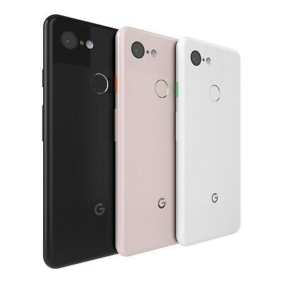 Google Pixel 3 64GB 128GB Just Black Clearly White Unlocked Android Smartphone