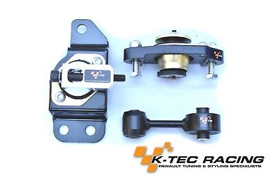 K-Tec Racing Clio 3 RS 197/R27/200 Uprated Engine & Gearbox Mount kit