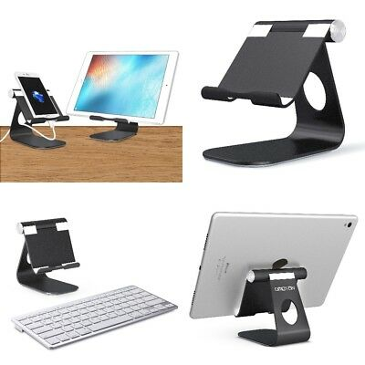Adjustable iPad Pro Stand Holder Tablets Cell Phones Stand Stable Sticky Base