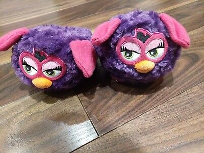 Stompeez Furby Childrens Slippers   7-9 X Small