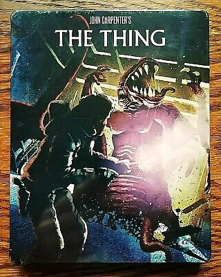 The Thing Steelbook Blu-ray NEW Sealed Limited Edition 3 Disc Scream Factory