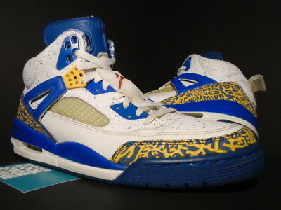 official photos 9d890 38a27 2007 Nike Air Jordan Spizike Do The Right Thing Dtrt White Blue Gold Red  11.5