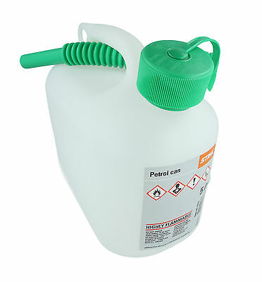 STIHL 5 Litre Fuel Canister Can 0000 881 0232 2 Stroke Oil Chainsaw Petrol
