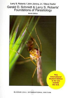 Foundations of Parasitology by Larry S. Roberts (English) Paperback Book Free Sh