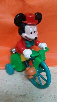 c66ef0469d1 Vintage Walt Disney MICKEY on a Tricycle by Illco Wind-up Toys Collector