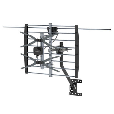 180Mile Outdoor Digital TV Antenna with Amplifier HDTV 1080P UHF with Pole