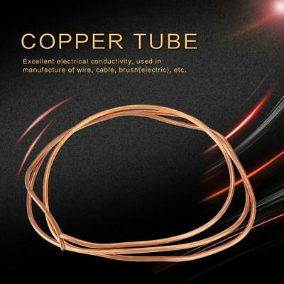 2m T2 Soft Copper Coil Tube Pipe ID 4mm OD 5mm Thickness 0.5mm for Refrigeration