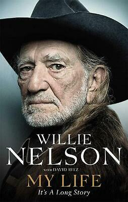 My Life: It's a Long Story by Willie Nelson Paperback Book Free Shipping!