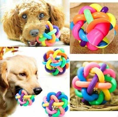 Dog Toy Giggle Ball Pet Training Toy Chew Dispenser Wobble Wag Fun Play  Large
