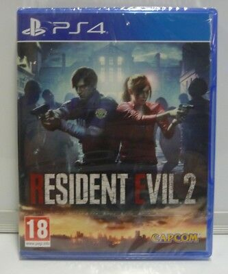 Resident Evil 2 - Playstation 4 Ps4 New Sealed Pal Uk Region Free