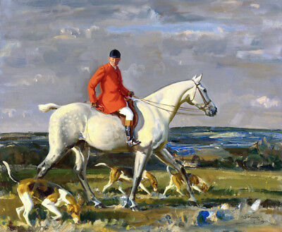 Art Giclee Canvas Print Hunting Scenes Oil painting Printed on canvas P1076