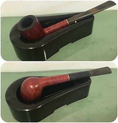1933 Patent Prototype Smoking Pipe Down Cigarette Ashtray Holder Bakelite Vtg