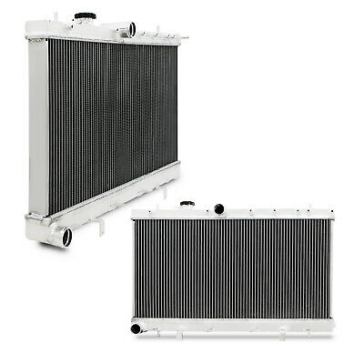 40mm HIGH FLOW ALUMINIUM RADIATOR RAD FOR SUBARU IMPREZA GDA GDB WRX STI 03-07