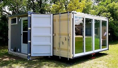 Shipping Container Tiny Homes, Cabins, Retail Spaces and Emergency Shelters