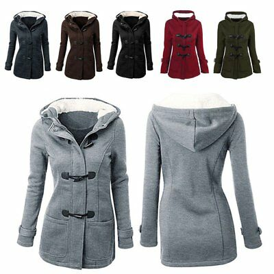 Winter Women Lady Thicken Warm Coat Hood Parka Long Jacket Overcoat Outwear PA