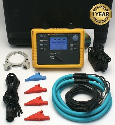 Fluke 1735 Three Phase Power Logger Analyst 10.24 kHz