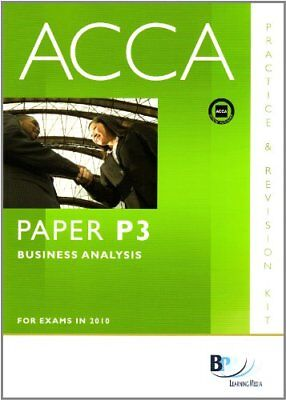 Acca - P3 Business Analysis (Revision Kit) By BPP Learning Media. 9780751780611