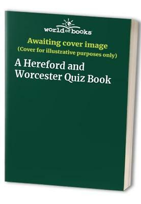 A Hereford and Worcester Quiz Book Paperback Book The Cheap Fast Free Post
