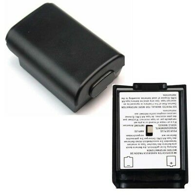 1X Battery Back Cover Case Holder Shell Pack for Xbox 360 Controller Black UK