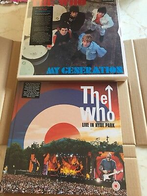 THE WHO My Generation Super Deluxe Edition remastered 5-CD Box set NEW+Hyde Park