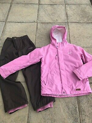 Girls Animal Snow Board ,Ski Suit, Ski Jacket & Ski Trousers, Age 11-12